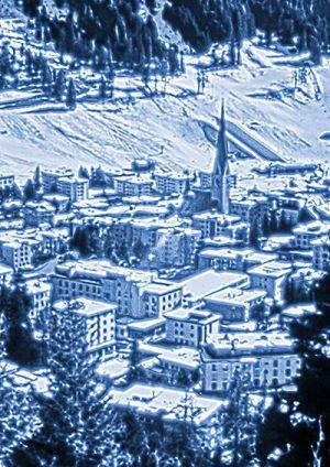 Davos HDR Blautonung