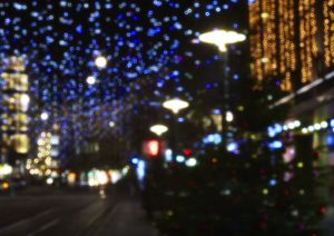 5987 Bahnhofstrasse Zürich Weihnachtsbeleuchtung