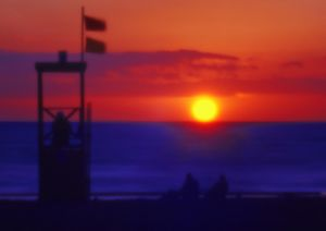 Sonnenuntergang in Marina di Castagneto