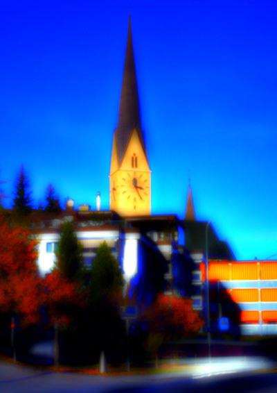 0800 Davos, Kirche St.Johann
