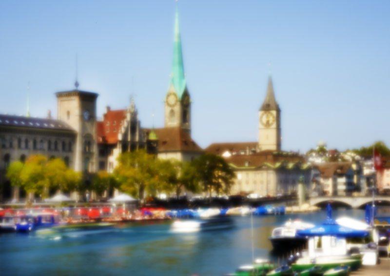 2914 Zürich, Fraumünster und St. Peter